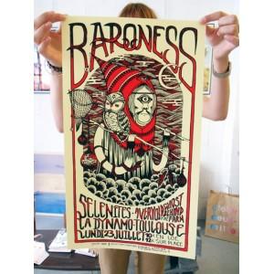 BARONESS + SELENITES - SÉRIGRAPHIE