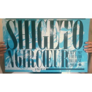 SHIGETO + NOIR CUR  SRIGRAPHIE