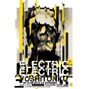 ELECTRIC ELECTRIC + YOSHI TONKU  SRIGRAPHIE