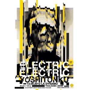 ELECTRIC ELECTRIC + YOSHI TONKU ► SÉRIGRAPHIE